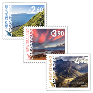 2019 Scenic Definitives Set of Used Stamps