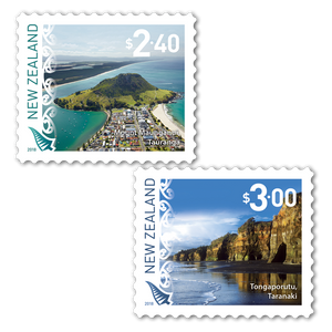2018 Scenic Definitives Set of Cancelled Self-adhesive Stamps