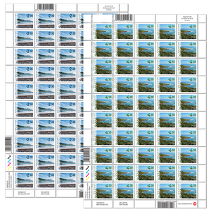 2017 Scenic Definitive Set of Stamp Sheets