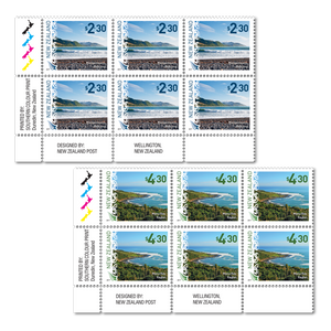 2017 Scenic Definitive Set of Plate Blocks