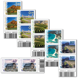 2016 Scenic Definitives Set of Barcode A Blocks