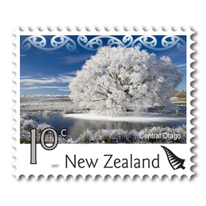 2007 Scenic Definitives 10c Stamp