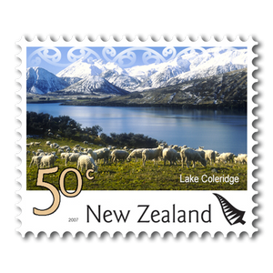 2007 Scenic Definitives 50c Stamp