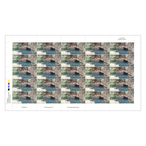 2014 Scenic Definitives - A Tour of Niue $1.00 Stamp Sheet