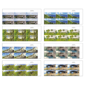 2014 Scenic Definitives - A Tour of Niue Set of Value Blocks