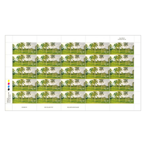 2014 Scenic Definitives - A Tour of Niue $1.40 Stamp Sheet