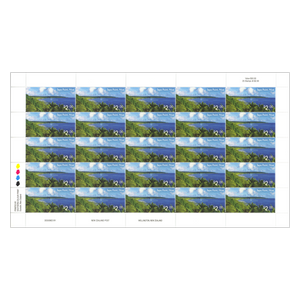 2014 Scenic Definitives - A Tour of Niue $2.00 Stamp Sheet