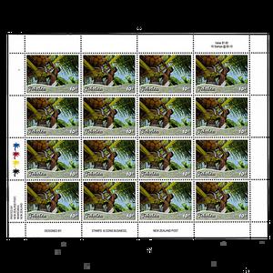 Tokelau Scenic Definitives 2012 10c Stamp Sheet