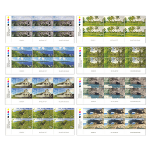 2014 Scenic Definitives - A Tour of Niue Set of Plate Blocks