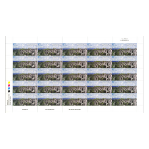 2014 Scenic Definitives - A Tour of Niue $4.00 Stamp Sheet