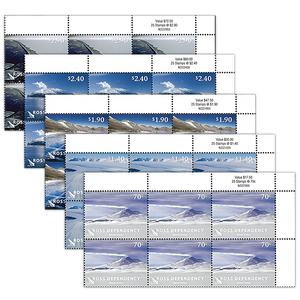 2012 Ross Dependency Definitives Set of Value Blocks