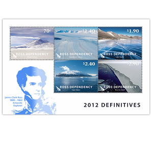 2012 Ross Dependency Definitives Cancelled Miniature Sheet