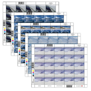 2012 Ross Dependency Definitives Set of Stamp Sheets