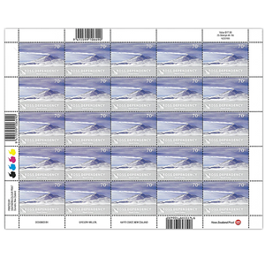 2012 Ross Dependency Definitives 70c Stamp Sheet