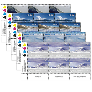 2012 Ross Dependency Definitives Set of Plate Blocks