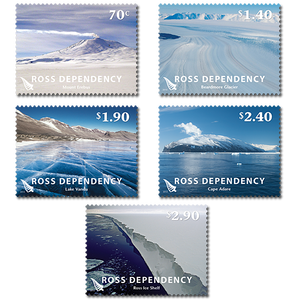 2012 Ross Dependency Definitives Set of Mint Stamps