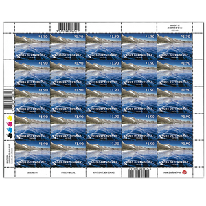 2012 Ross Dependency Definitives $1.90 Stamp Sheet