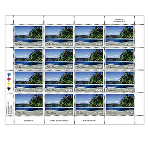 Tokelau Scenic Definitives 2012 $2.00 Stamp Sheet