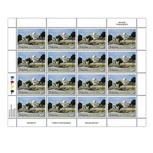Tokelau Scenic Definitives 2012 50c Stamp Sheet