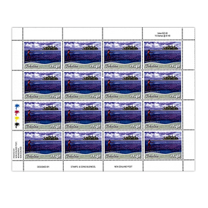 Tokelau Scenic Definitives 2012 $1.40 Stamp Sheet