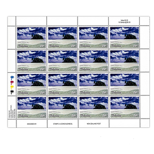Tokelau Scenic Definitives 2012 20c Stamp Sheet