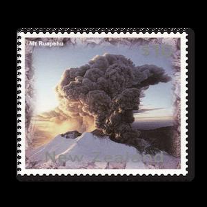 1997 Mount Ruapehu Definitive $10 Stamp