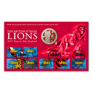 2017 British & Irish Lions Numismatic Cover