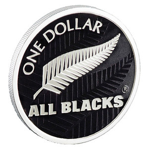2011 All Blacks Silver Proof Coin