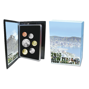 2013 New Zealand Proof Currency Set