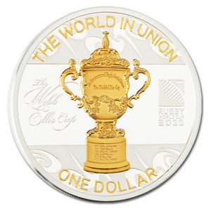 2011 Webb Ellis Cup Silver Proof Coin