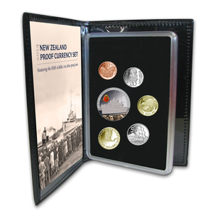 2014 New Zealand Proof Currency Set