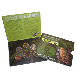 2009 Kakapo Brilliant Uncirculated Coin Set