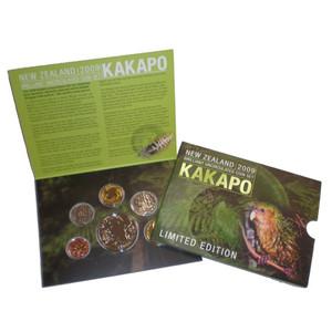 2009 Kakapo Brilliant Uncirculated Coin Set