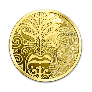 2013 Maori Art - Koru Gold Proof Coin
