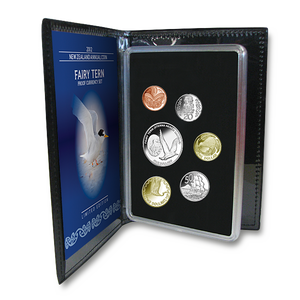 2012 New Zealand Annual Coin: Fairy Tern Proof Currency Set