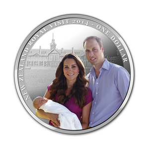 Royal Visit 2014 Silver Proof Coin