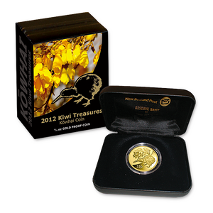2012 Kiwi Treasures Gold Proof Coin