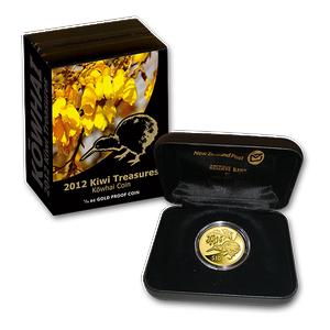 2012 Kiwi Treasures Gold Proof Coin