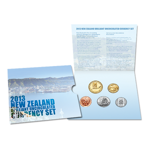 2013 New Zealand Brilliant Uncirculated Currency Set