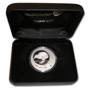 2010 Icons of New Zealand Silver Proof Coin