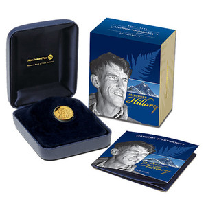 2008 Sir Edmund Hillary Gold Proof Coin