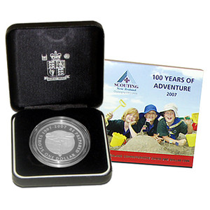 2007 Centenary of World Scouting Silver Proof Coin
