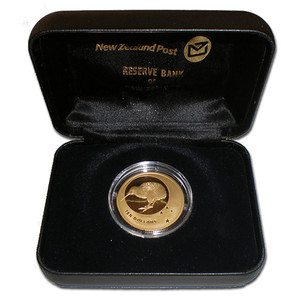 2010 Icons of New Zealand Gold Proof Coin
