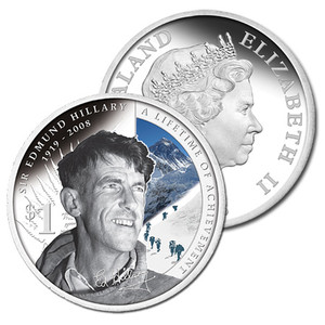 2008 Sir Edmund Hillary  - A Lifetime of Achievement Silver Proof Coin
