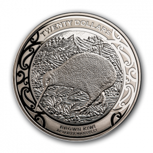 2019 Kiwi 1kg Silver Proof Coin
