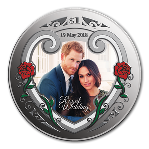 2018 Royal Wedding Silver Proof Coin