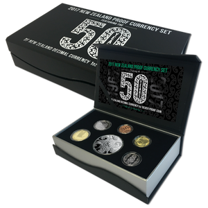 2017 New Zealand Proof Currency Set