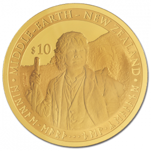 The Hobbit: An Unexpected Journey Premium Gold Coin
