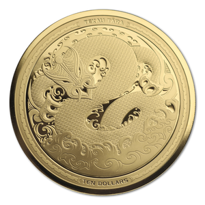 2017 Taniwha 1oz Gold Proof Coin