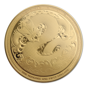2017 Taniwha 5oz Gold Proof Coin